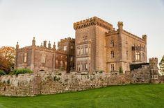 The Markree Castle Hotel in County Sligo, Ireland at Dusk
