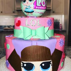 Lol surprise doll cake