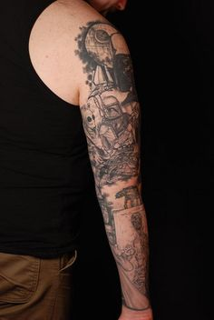 star wars tattoos | Star Wars Sleeve | Flickr - Photo Sharing!