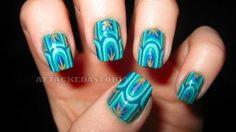 art deco nails by Janny Dangerous
