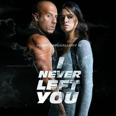 'I never left you'