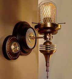 Steampunk Decor Ideas  | Click to find out more!   #steampunk #decor #ideas