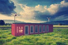 Container autark