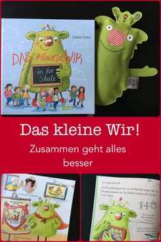 """Today I have a very special guest for an interview: the little we! Together we would like to introduce you to the new picture book """"Das kleine Wir in der Schule"""" that I think should find a home in eve Religious Education, Art Education, Primary Education, Primary School, Elementary Schools, School School, Interview, Paper Towel Crafts, Home Schooling"""