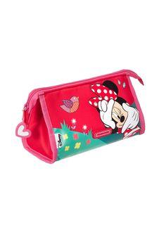 Disney Wonder - Minnie Mouse Toilet Kit #Disney #Samsonite #MinnieMouse #Minnie #Mouse #Travel #Kids #School #Schoolbag #MySamsonite #ByYourSide