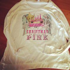 Bling a GoGo - Merry Pink Christmas Locker Room Pullover, $72.00 (http://www.bling-a-gogo.com/merry-pink-christmas-locker-room-pullover/)
