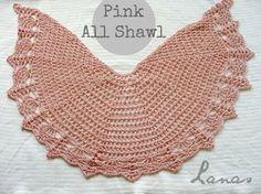 "COLECCIÓN DE CHALES VELOCES (Made by / Hecho por: Beatriz) Crochet This ""All-Shawl collection"" was born of my mom´s desire t..."