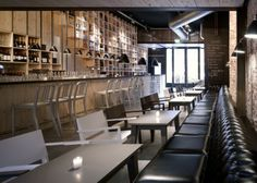 Restaurant Design: Mazzo by Concrete Architecture Associates