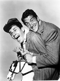 Dean Martin and Jerry Lewis 1954
