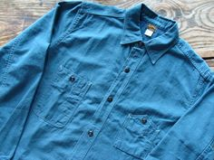 Freewheelers Denim Button Up, Button Up Shirts, Kind Of Blue, Chambray, Indigo, Fashion Outfits, Clothing, How To Wear, Style