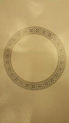 Zencerek Illumination Art, Islamic Patterns, Arabic Calligraphy Art, Turkish Art, Celtic Art, Celtic Designs, Letter Art, Geometric Art, Mandala Art