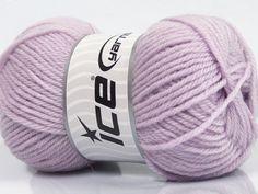 Machine washable. Lay flat to dry Fiber Content 80% Superwash Virgin Wool 20% Acrylic Light Lilac Brand Ice Yarns Yarn Thickness 3 Light DK Light Worsted fnt2-43672