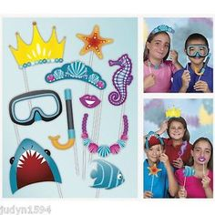 under the sea photo booth backdrop - Google Search