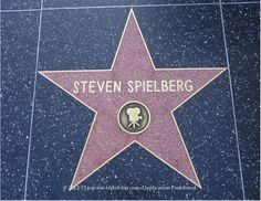 Steven #Spielberg star on #Hollywood Walk of Fame