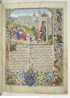 Chroniques sire JEHAN FROISSART. BNF, Français 2643, fl. 1r.