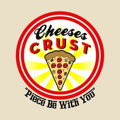 Check out this awesome 'Cheeses+Crust+Pizza' design on @TeePublic!
