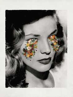 Enjoy the digital collage works by the Guatemalan artist Astrid Torres. Enjoy the digital collage works by the Guatemalan artist Astrid Torres. Collage Kunst, Art Du Collage, Digital Collage, Flower Collage, Art Collages, Surreal Collage, Collage Drawing, Collage Artists, Music Artists