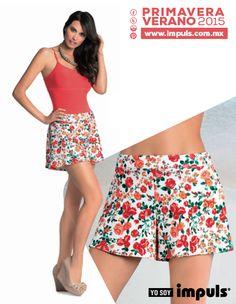 Falda + Short = Libertad con estilo. #YoSoyImpuls www.impuls.com.mx