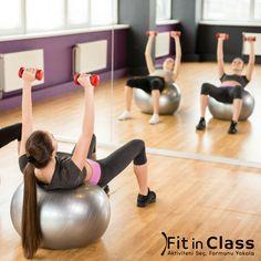 Pilates gibi vücut esnekliğinizi arttıran egzersizler sizi yormadan forma sokarak kilolarınızdan kurtulmanızı sağlar. İstediğiniz grup dersine haftada 2-3 gün ayırarak, duruşunuzun ve nefesinizin ne kadar değiştiğini göreceksiniz.  www.fitinclass.com