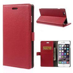 Köp Plånboksfodral Apple iPhone 6 Plus/6S Plus röd online: http://www.phonelife.se/planboksfodral-apple-iphone-6-plus-rod