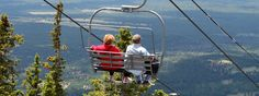 Scenic Chairlift | Arizona Snowbowl  25 min ride up, hiking  Memorial Day - Labor Day (every day), then fri-sun through mid-October