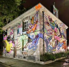 CONVERSE CLASH WALL – Visite virtuelle de la performance street art de Supakitch et Alëxone !