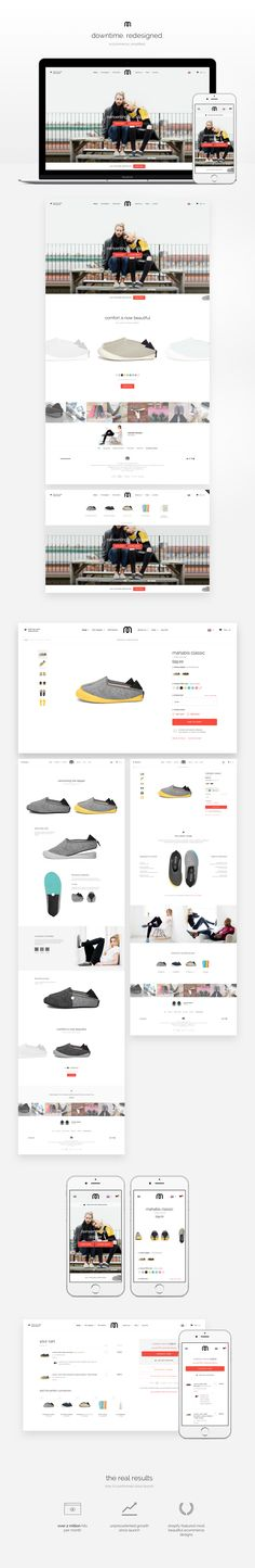 Mahabis have taken the ordinary slipper and reinvented it for modern living. I had the task of creating a unique e-commerce experience which showcased the product combinations on offerI took care of both design and front-end using the Shopify platform Mobile Web Design, Ui Ux Design, Graphic Design, Landing Page Design, Web Inspiration, Portfolio Website, Ecommerce, Modern Living, Slipper