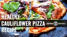 HEALTHY PIZZA RECIPE : I made this yesterday and it was AMAZING, check it out at the link below where I made a video for you all and provided you with the full recipe in detail.  http://www.sixpackfactory.com/pizza/