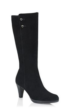 Mazy Black Boots Women Default Category