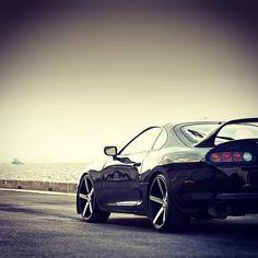 Toyota Supra... DROOL... #Toyota #Supra #MidtownToyota #resnickautogroup Schaumburg Toyota, Vossen Wheels, Toyota Supra, Super Cars, Antique Cars, Instagram Posts, Vintage Cars