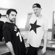 These guys are hilarious!!! I love Mitch and Scott from Pentatonix!!!!!