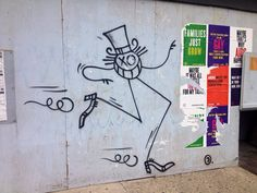 Andrè - street artist, Francia