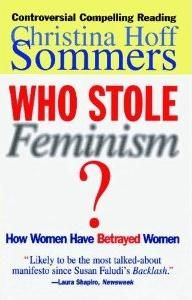 """Christina Hoff Sommers considers herself an """"equity"""" feminist, which she distinguishes from the (more radical) """"gender"""" feminists. An excellent book."""