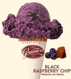 everything purple ice cream | Black Rasberry Chip ice cream, or a purple scoop of Heaven?