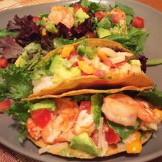 [Homemade] Shrimp Tacos #food #foodporn #recipe #cooking #recipes #foodie #healthy #cook #health #yummy #delicious