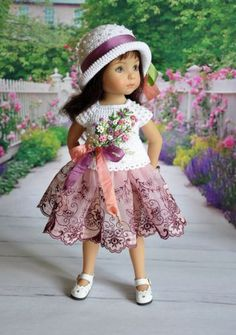 OOAK-OUTFIT-FOR-DOLLS-Little-Darlings-Effner-13. Sold for $117.50 on 6/17/15.