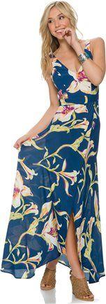 FLYNN SKYE DOWNTOWN OCEAN LILY MAXI DRESS > Womens > Clothing > MAXI Dresses | Swell.com