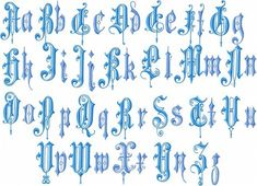 English Font - Inch Upper and Lower Case Machine Embroidery Font Vintage English Font - Inch Upper and Lower Case Machine Embroidery Font Vintage English Font - Inch Upper and Lower Case Machine Embroidery Font Machine Embroidery Patterns, Embroidery Fonts, Vintage Embroidery, Embroidery Ideas, Embroidery Sampler, Embroidery Monogram, Modern Embroidery, Tattoo Lettering Fonts, Graffiti Lettering