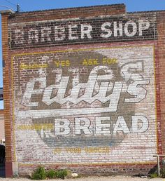 Barber Shop and Eddy's Bread. Barber Shop