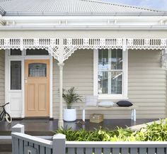 Exterior Color Schemes, Exterior Paint Colors For House, Paint Colors For Home, Exterior Design, Australia House, Dulux Australia, Dulux Paint Colours Australia, Weatherboard Exterior, House Paint Color Combination