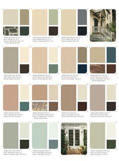 Resultado De Imagen De Exterior Color Palette