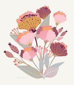 Pastel Flowers-MiaCharro