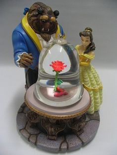 Disney Snow Globe - Beauty & the Beast - Enchanted Rose. I have this one