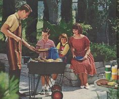 vintage BBQ recipes 1965