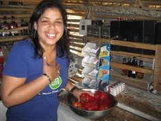 """Food at Villa Celeste Estate local  """"local"""" Dominican travel experience w/ farm-to-table cuisine #ecotourism"""