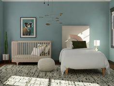 A Kids Bedroom And Nursery U2013 Designing A Bedroom For Two Children U2013 Kids  Bedroom Design