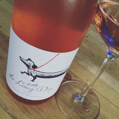 """""""Different day different wine.., with the cutest label... #wine #rose"""""""