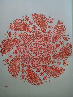 Magyar Otthon: Kalotaszegi nagyírásos Hungarian Embroidery, Folk Embroidery, Embroidery Stitches, Embroidery Patterns, Line Patterns, Fabric Patterns, Soutache Pattern, Polish Folk Art, Outline Drawings