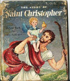 SAINT CHRISTOPHER PATRON SAINT OF TRAVEL SAFETY Prayer Card: If ...