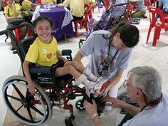 Host your own Wheels for the World wheelchair drive!